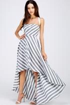 Hi-lo Strappy Dress