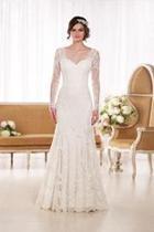 Lace Longsleeve Gown