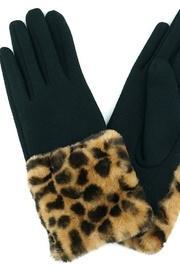 Leopard Fur Gloves