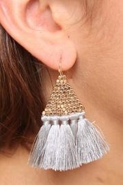 Accented Tassel Earrings