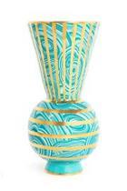 Malachite Rings Vase
