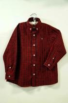Red-tartan Plaid Shirt