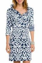 Arabesque Jersey Dress