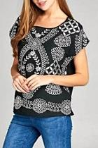 Boatneck Embroidery Top