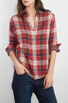 Double Face Plaid Shirt