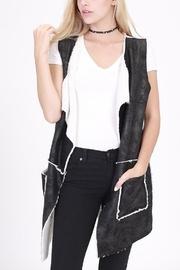Faux-fur Pocket Vest
