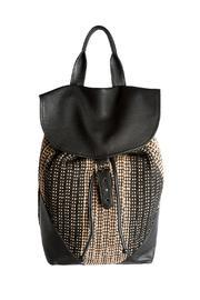 Black Texture Backpack