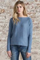 Long Sleeve Boatneck Sweater
