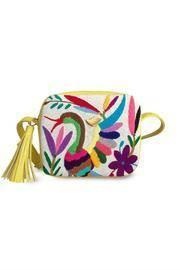 Tenango Yellow Cross Body Bag