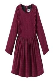 Burgundy/gold Dress