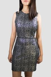 Cutout Shoulders Dress