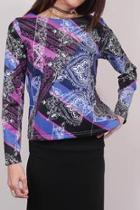 Non-layering Printed Top
