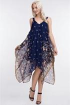 Handkerchief Chiffon Dress