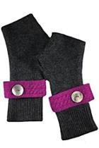 Wristband Fingerless Gloves