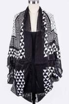Tribal Print Iconic-shawl