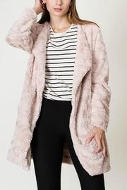 Faux-fur Blazer Coat