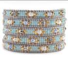 Mint Mix Beaded Bracelet