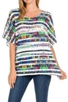 Colorful Boxy Top