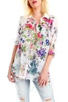 Buttondown Floral Shirt