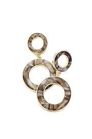 Round Link Earrings