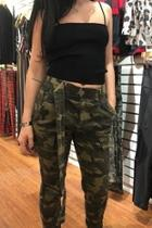 Belted Camo Pants