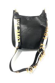 Vegan Leather Messenger Bag W/2 Adjustable Guitar Strap