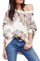 Floral Printed Pullover