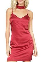 Pippa Satin Choker Dress