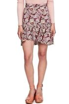 Nadia Ruffle Miniskirt