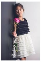 Colorblock Fringe Dress