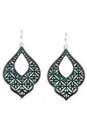 Patina Filigree Earrings