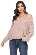 Women Vneck Sweater