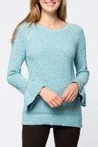 Tiffany Rufflesleeve Sweater