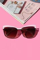 Riley Cateye Sunglasses