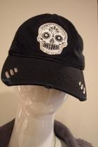 Skull Baseball Caps