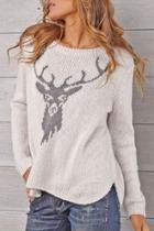 Stag Crewneck Sweater