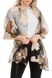 Chiffon Tulle Mixed-scarf