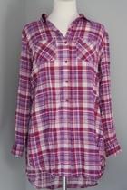 Plaid Long Shirt