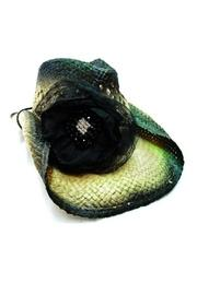 Lace Flower Cowgirl-hat