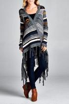 Multi Striped Cardigan