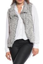 Charcoal Cozy Vest