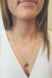 Gold-coin Zodiac Necklace