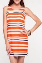 Auburn Shift Dress