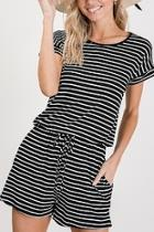 Stripe Everyday Romper