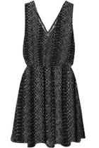 Sleeveless Snake Dress