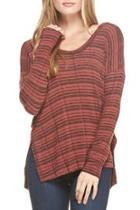 Brick Reverse Knit Top