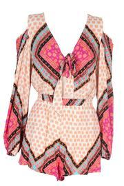 African Trance Playsuit