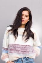 Hilda Striped Pullover Sweater