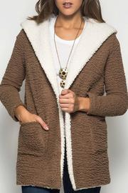 Shearling Fleece Coat