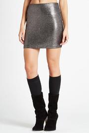 Foil Knit Skirt